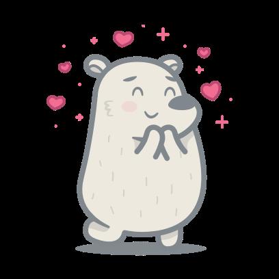 Bear messages sticker-3