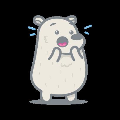 Bear messages sticker-6