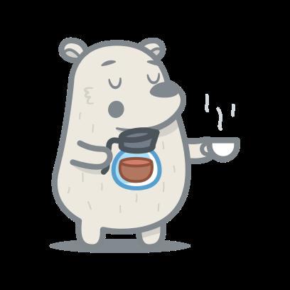 Bear messages sticker-4