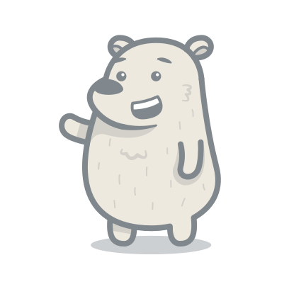 Bear messages sticker-0