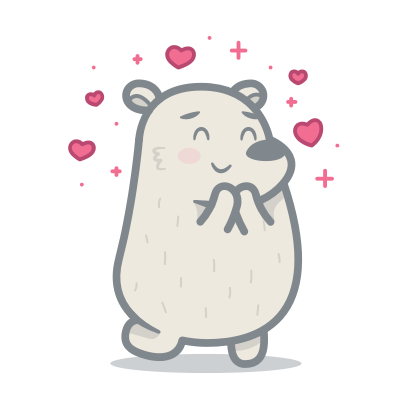 Bear messages sticker-3