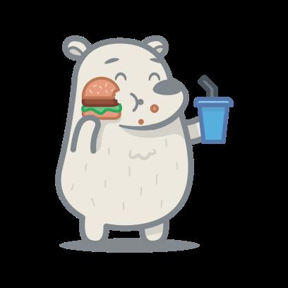 Bear messages sticker-5