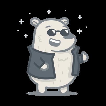 Bear messages sticker-8