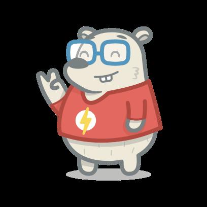 Bear messages sticker-11