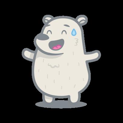 Bear messages sticker-7