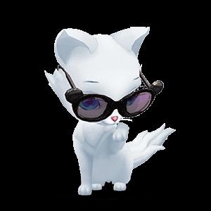 Kitty Cat Love messages sticker-0