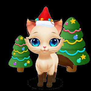 Kitty Cat Love messages sticker-5