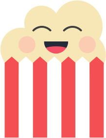 Popcorn Stickers messages sticker-5