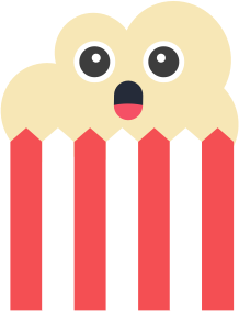 Popcorn Stickers messages sticker-4