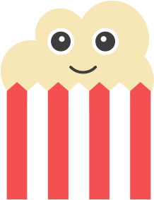 Popcorn Stickers messages sticker-10