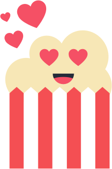 Popcorn Stickers messages sticker-8