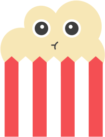 Popcorn Stickers messages sticker-6