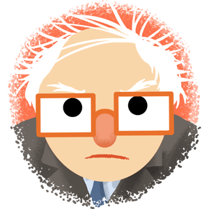 Berniemoji messages sticker-4