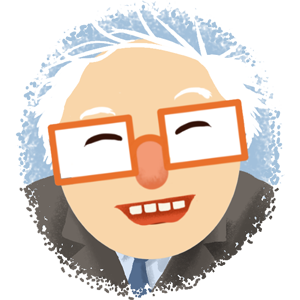Berniemoji messages sticker-7