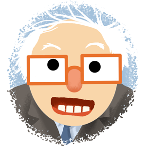 Berniemoji messages sticker-8