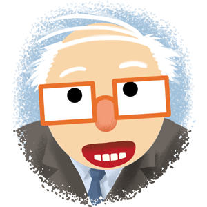 Berniemoji messages sticker-2