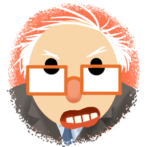 Berniemoji messages sticker-11