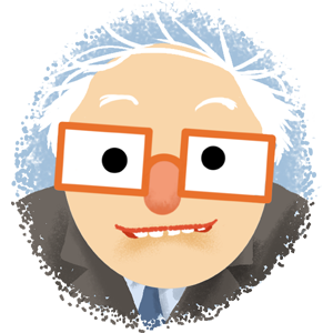 Berniemoji messages sticker-6