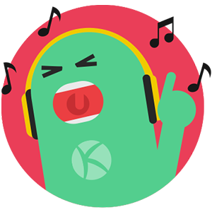 Karaoke One lyrics and songs messages sticker-6