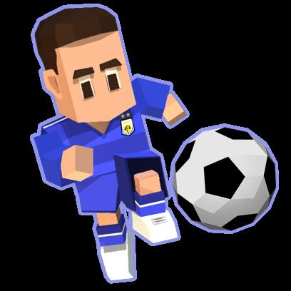 Retro Soccer - Arcade Football Game messages sticker-1