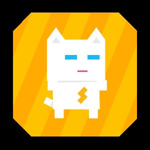 Super Phantom Cat - Be a jumping bro. messages sticker-2