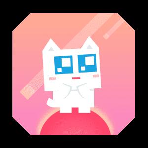 Super Phantom Cat - Be a jumping bro. messages sticker-3