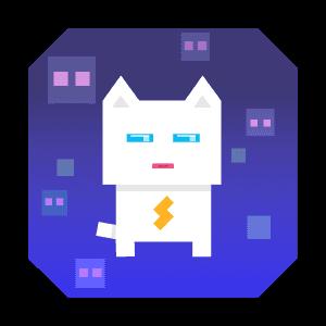 Super Phantom Cat - Be a jumping bro. messages sticker-4