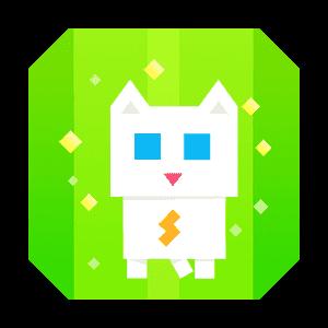 Super Phantom Cat - Be a jumping bro. messages sticker-1