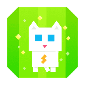 Super Phantom Cat - Be a jumping bro. messages sticker-1