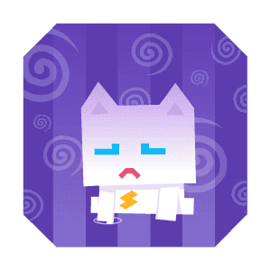 Super Phantom Cat - Be a jumping bro. messages sticker-10