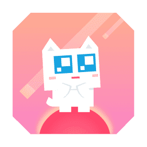 Super Phantom Cat - Be a jumping bro. messages sticker-3