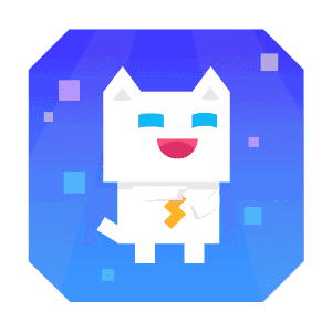 Super Phantom Cat - Be a jumping bro. messages sticker-0
