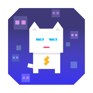 Super Phantom Cat - Be a jumping bro. messages sticker-4