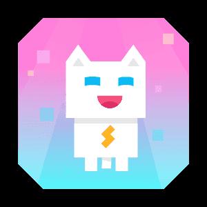 Super Phantom Cat - Be a jumping bro. messages sticker-5
