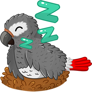 Bird Land: Pet Simulation Game messages sticker-6