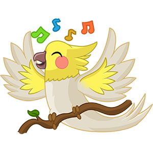 Bird Land: Pet Simulation Game messages sticker-2