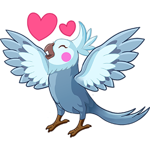 Bird Land: Pet Simulation Game messages sticker-4