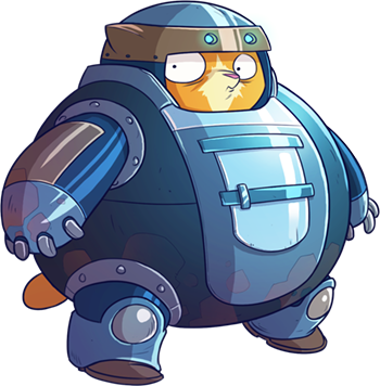 Tap Cats: Idle Warfare messages sticker-1