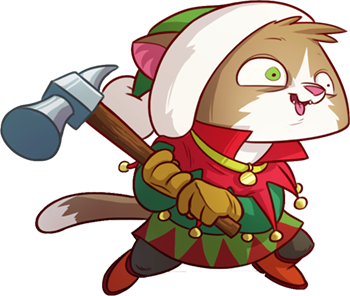 Tap Cats: Idle Warfare messages sticker-3