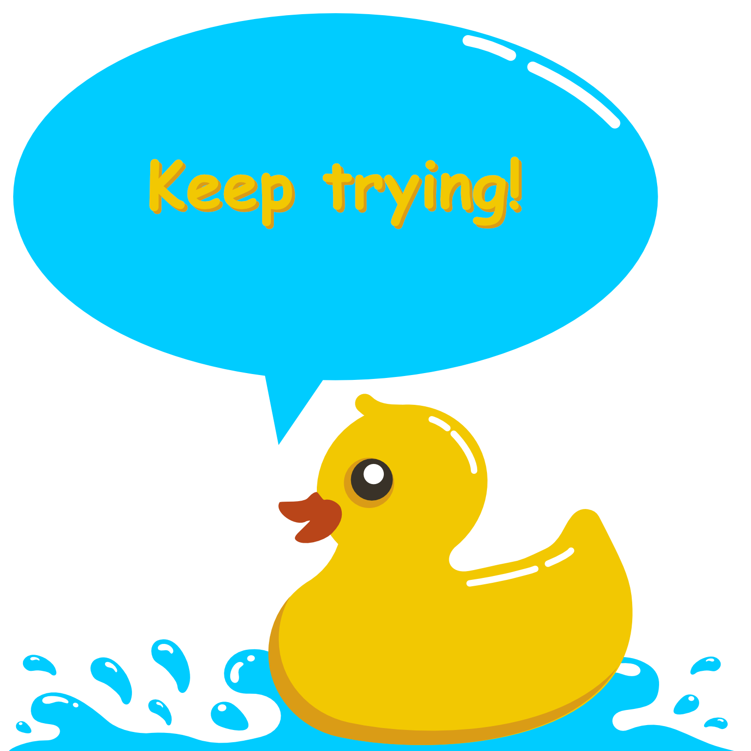 Daily Rubber Ducking messages sticker-5