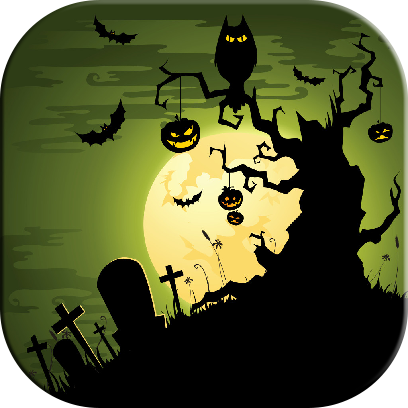 Halloween Jigsaw Puzzles Game messages sticker-3