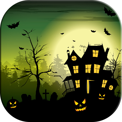Halloween Jigsaw Puzzles Game messages sticker-2