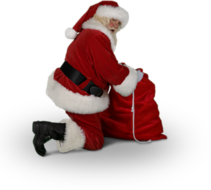 Catch Santa Claus In My House For Christmas Messages Sticker 11