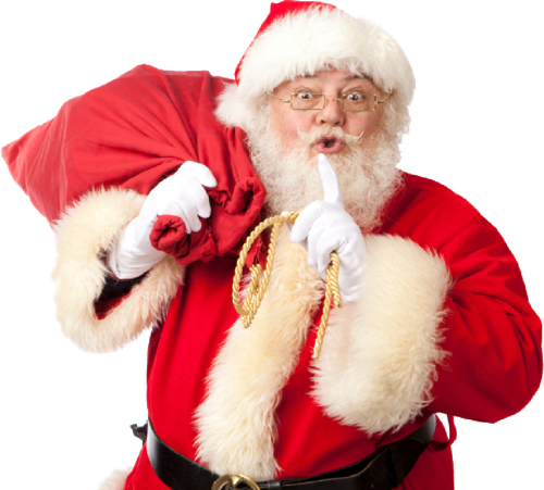 Catch Santa Claus in my house for Christmas messages sticker-2