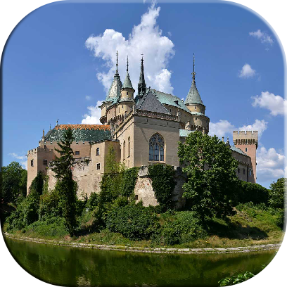 Castles Jigsaw Puzzles messages sticker-0