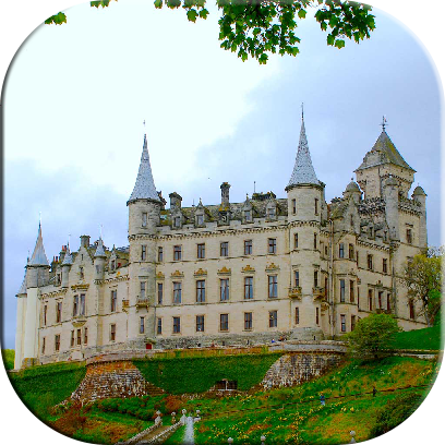 Castles Jigsaw Puzzles messages sticker-3