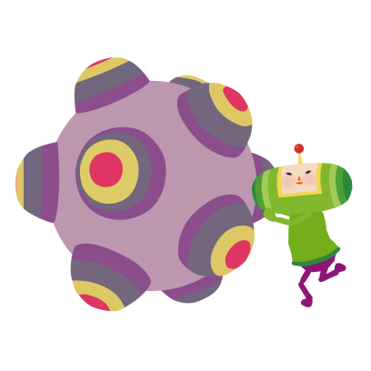 Tap My Katamari - Endless Cosmic Clicker messages sticker-0