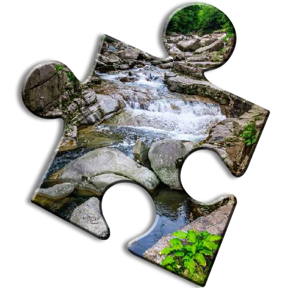 Nature Jigsaw Puzzles messages sticker-7