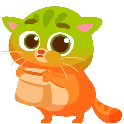 Bubbu – My Virtual Pet Cat messages sticker-7