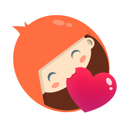 Hitwe – meet people and chat messages sticker-3